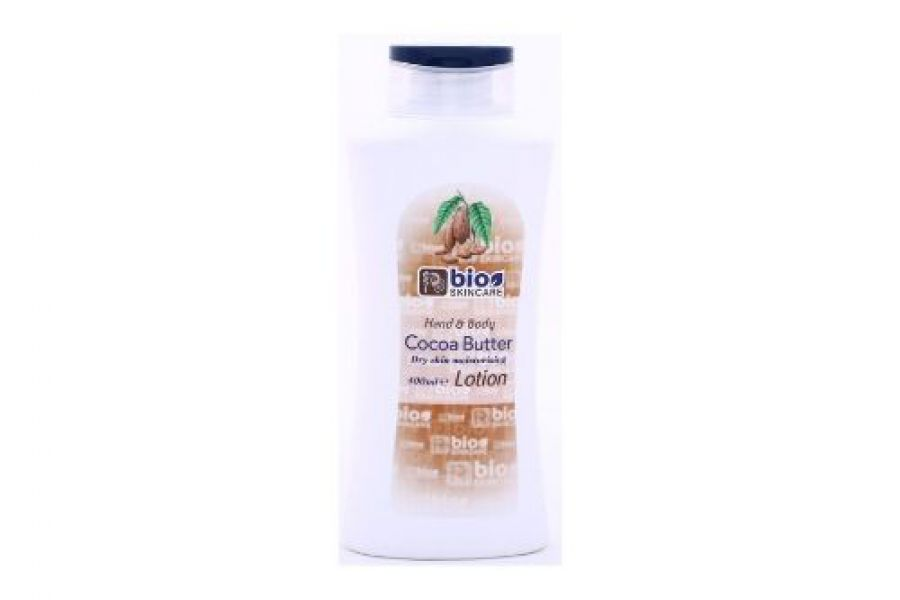 BIO Skincare Cocoa Butter Hand & Body Lotion 400ml