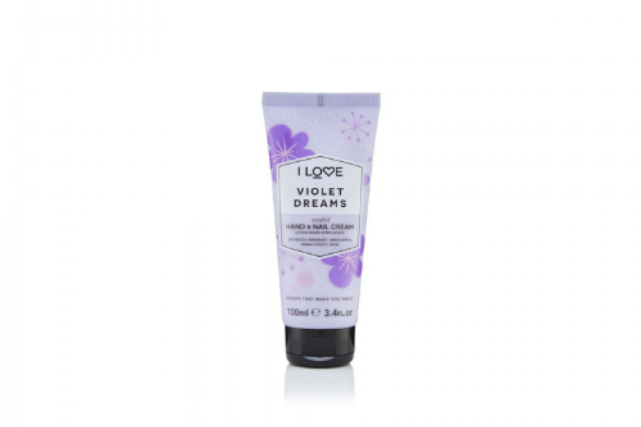 I Love Hand and Nail Cream Violet Dreams 100ml