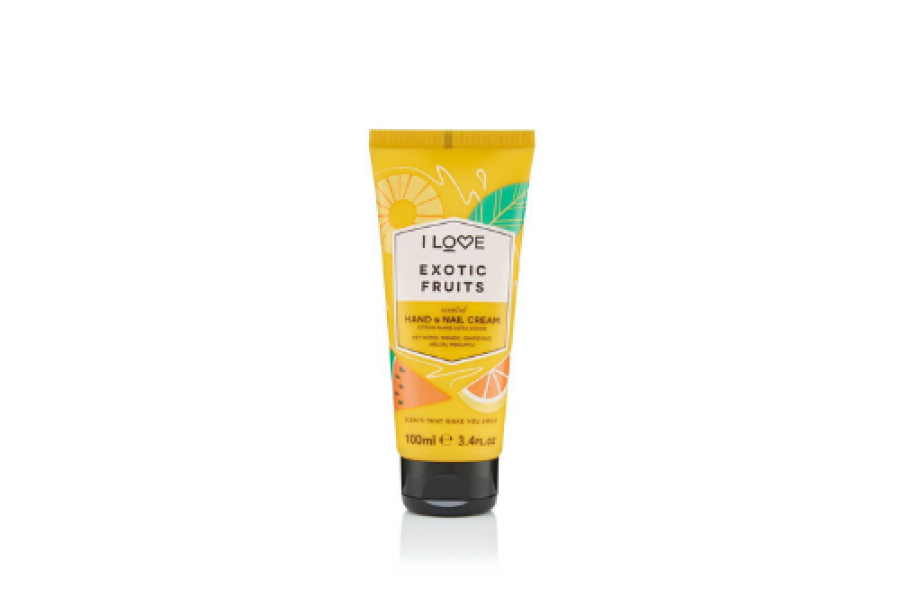 I Love Hand and Nail Cream Exotic Fruit 100ml