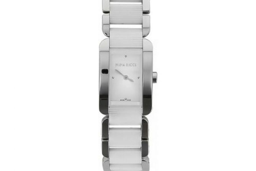 Nina Ricci - Stainless Steel Silver Dial Ladies Watch