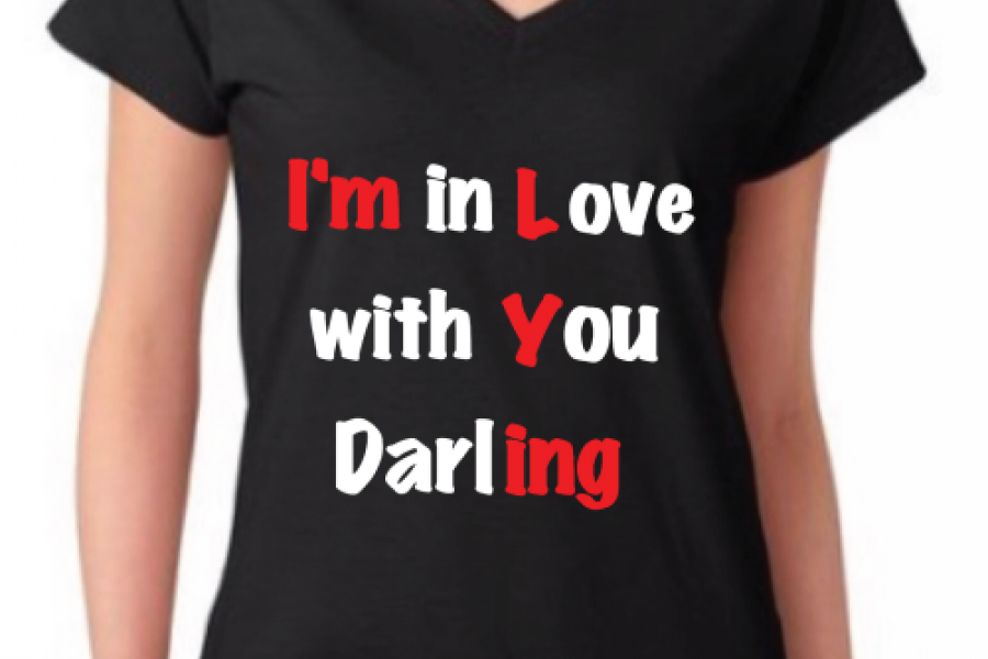 Reemster Teasers - I'm In Love With You Darling Tshirt