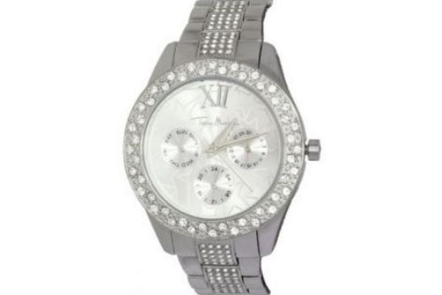 Thierry Mugler - Stainless Steel Band Silver Dial Watch - 4722716